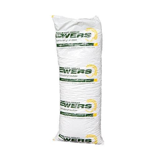En sæk 15 kg med træpiller 8 mm fra Ewers