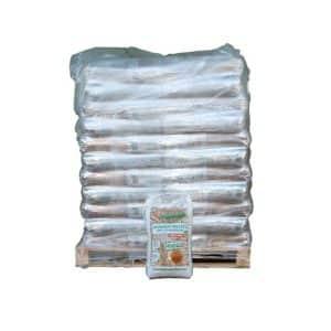 Barlinek træpiller 8 mm i sække a 15 kg på en palle